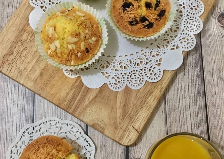 Cup cake tepung almond