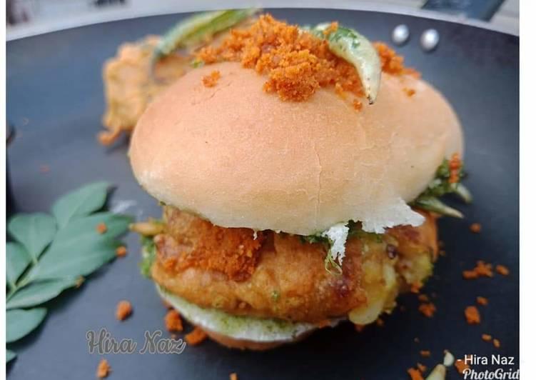 Steps to Make Self Vada Pav /Aloo Chop Burger