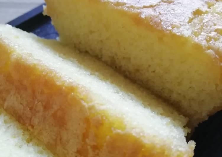 Cake citron à l'huile d'olive Bio (recette de MOF cuisine)