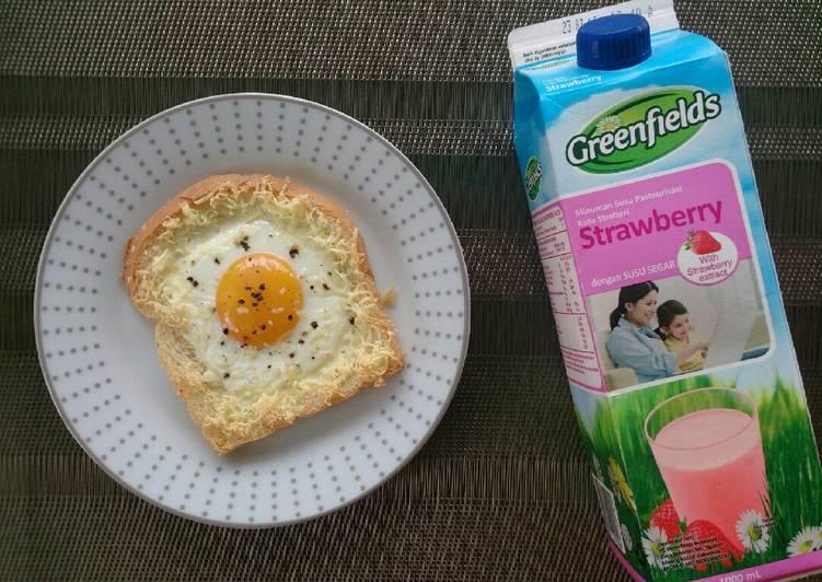 Cara Gampang Membuat Menu Sarapan Sehat Roti Telor Keju yang Lezat Sekali