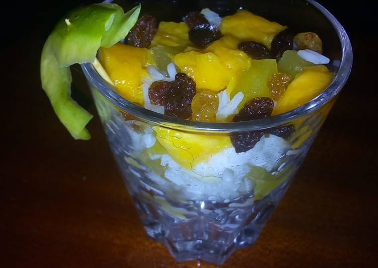 Mango Rice Pudding #CharityRecipe