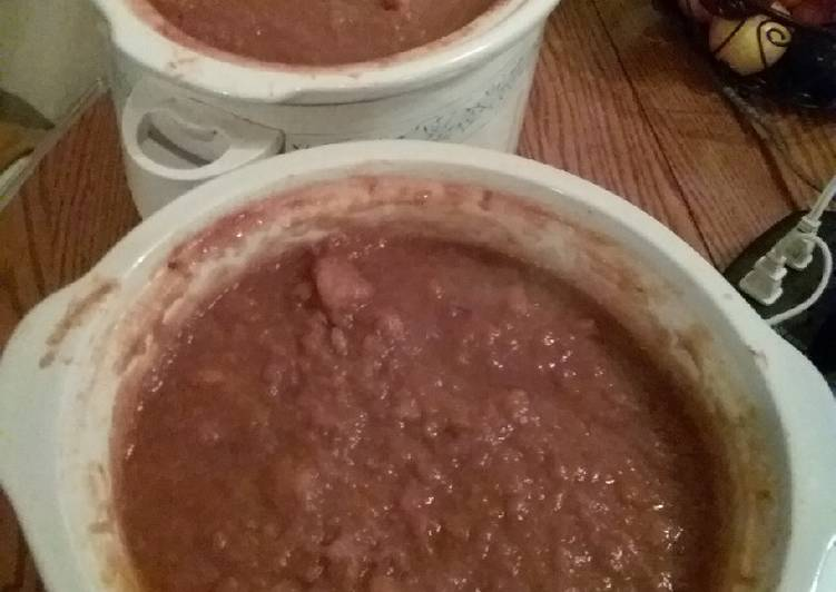 Slow Cooker Applesauce (for freezer storage)