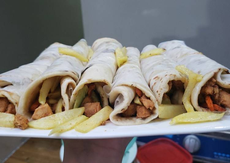 Step-by-Step Guide to Make Speedy Easy homemade tortilla wraps