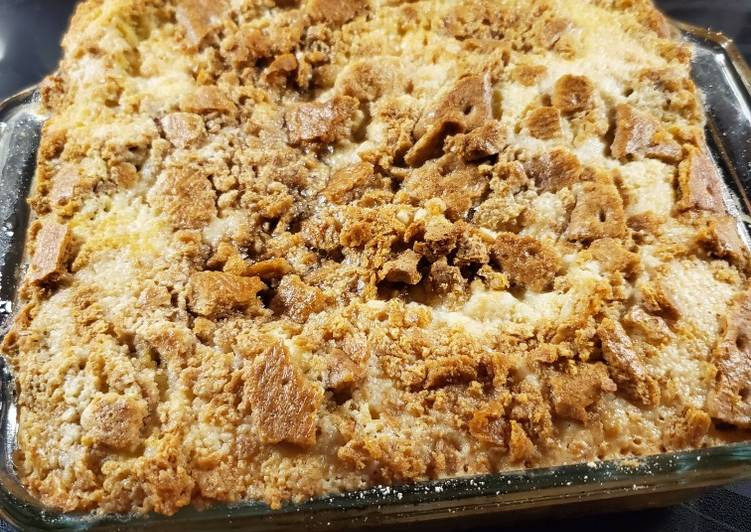 Recipe of Ultimate Pumpkin Dump Cake