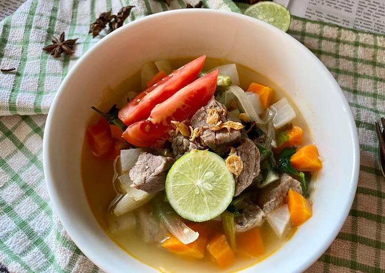 Sop Daging | Indonesian Beef Soup