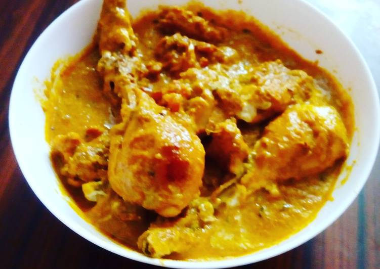 Butter chicken curry Finding Nutritious Fast Food