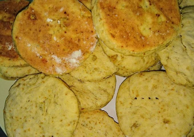 Recipe: Tasty Simple sweet potato biscuits