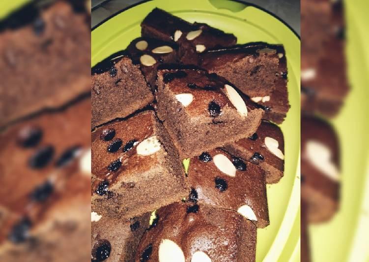 Brownies panggang ekonomis tanpa DCC tanpa margarine,,