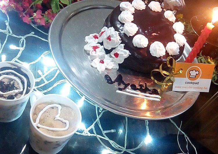 Recipe of Favorite Chocolate Fudge Cake ❤