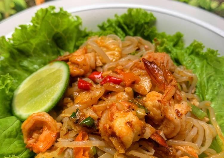 Shirataki shrimp thai #menudiet