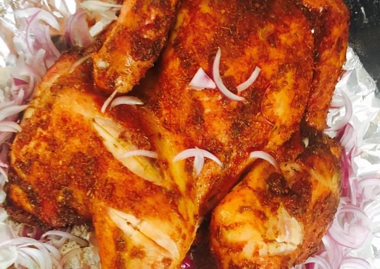 Recipe: Perfect Spatchcock chicken (suya) yaji spice.