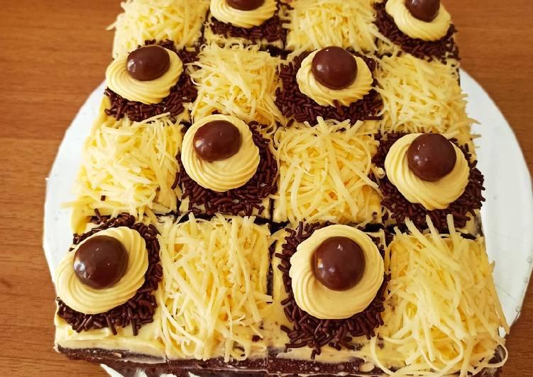 Brownies kukus Coklat Keju 🎀✨