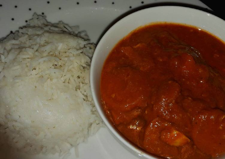 My chicken curry (Indian style) Finding Nutritious Fast Food