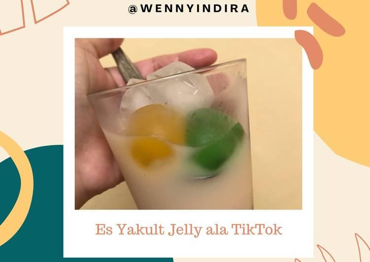 [86] Es Yakult Jelly ala TikTok