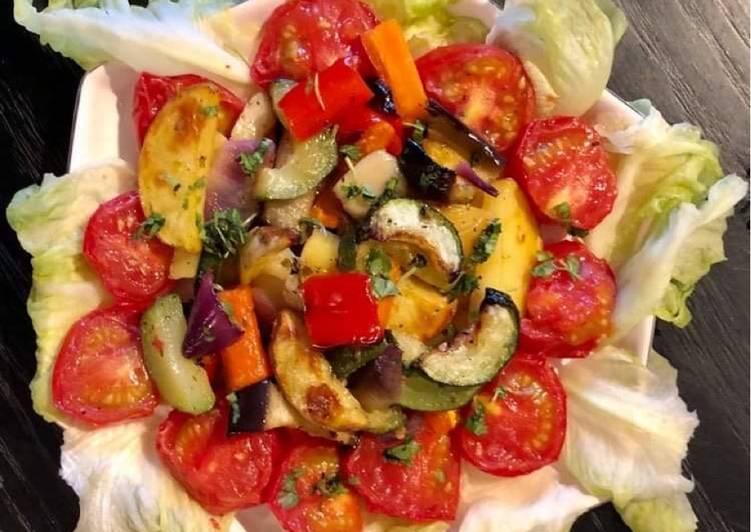 Baked /Roasted Vegetables Salad