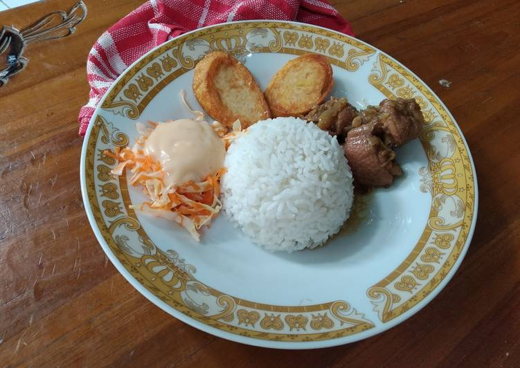 Resep Sarapan Ala HokBen Egg Chicken roll dan Chicken Teriyaki Paling Mudah
