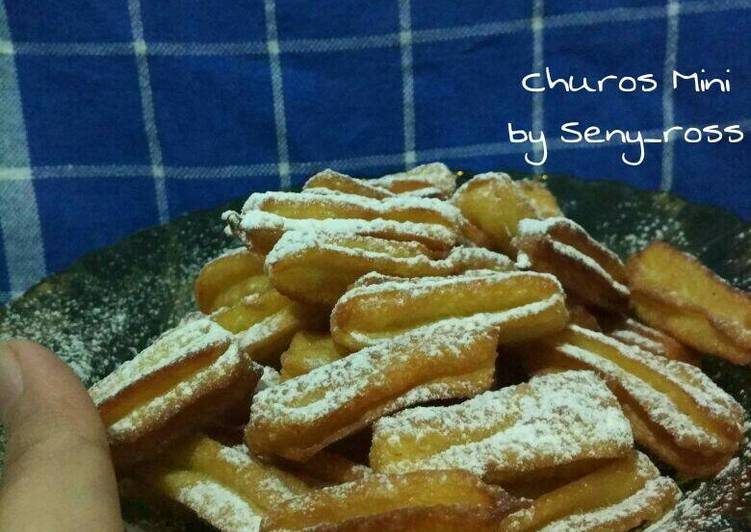 Churros mini (anti gagal)