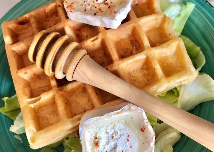 Nos 7 Meilleures Recettes de Gaufres chèvre miel