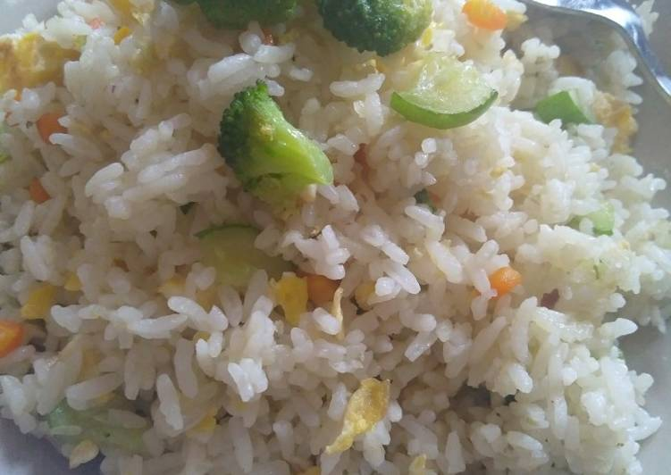 Resep Nasi goreng simple, insyaallah sehat 😊 Paling Gampang