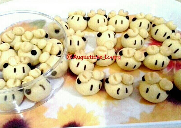 Fatty Sheep Cookies - cookandrecipe.com