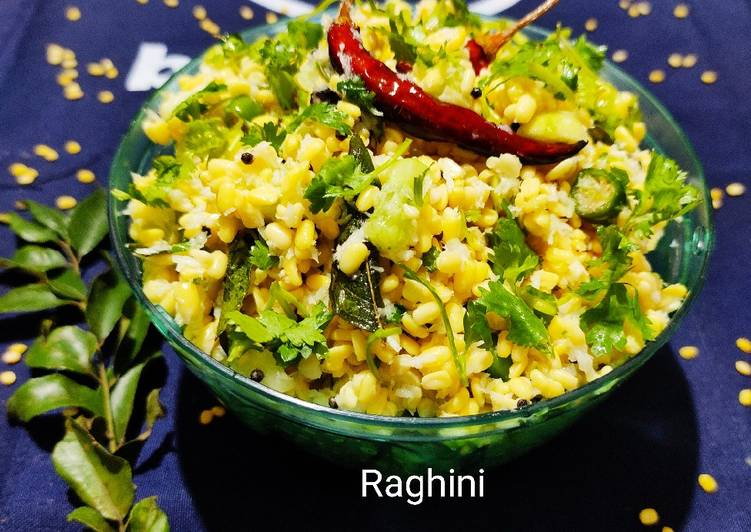 Step-by-Step Guide to Make Any-night-of-the-week Moong dal cucumber salad(Andra style)