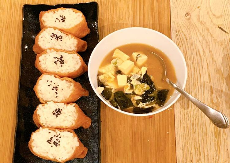 Selecting The Best Foods Will Help You Stay Fit As Well As Healthy Seaweed, Egg & Tofu Miso soup