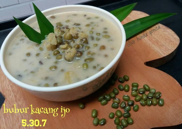 Bubur kacang ijo santan susu 5.30.7