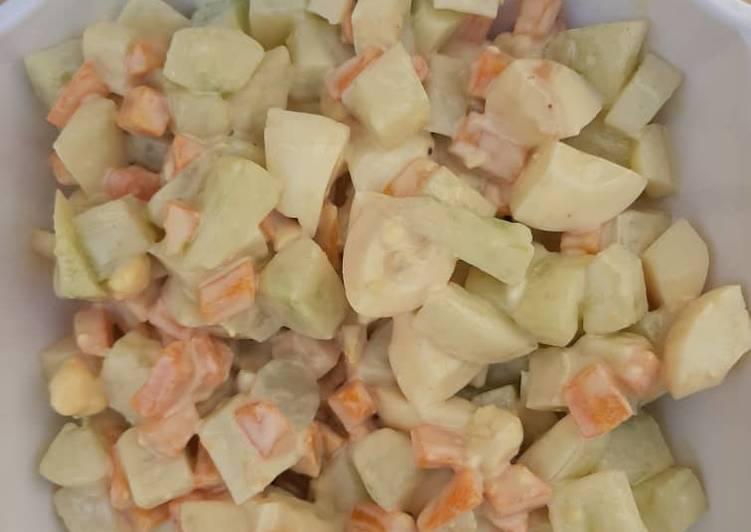 Recipe of Ultimate Cucumber salad