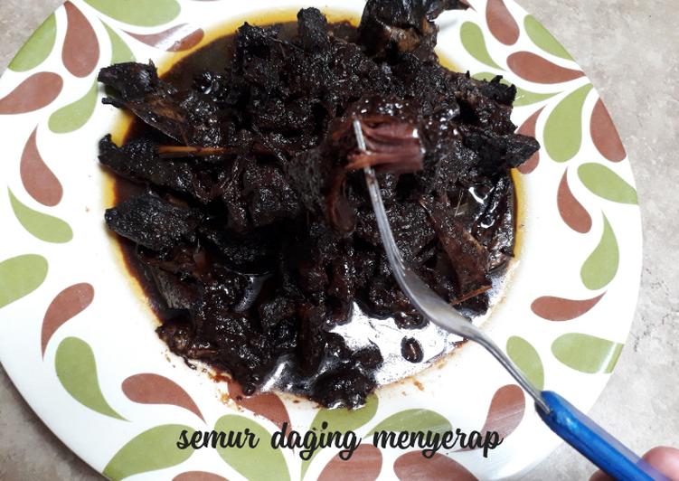 Semur daging menyerap+tips