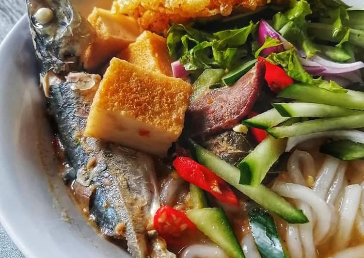 Laksa Perak Isi Ikan