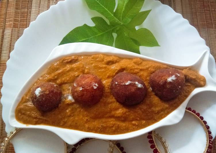 Recipe of Speedy Raw Papaya kofta curry
