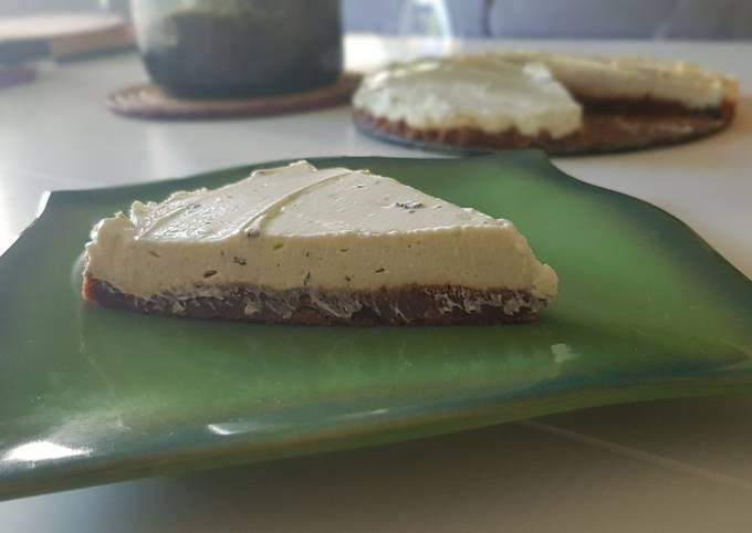 22• Cheesecake Spécial Été Citron vert et Menthe fraîche 🍋
