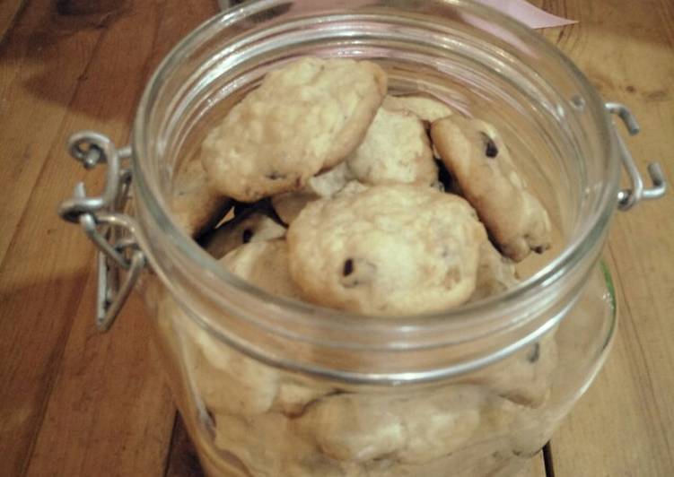 Banana Choco Cookies