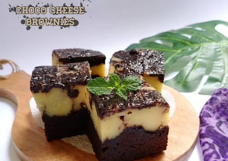 Choco Cheese Brownies