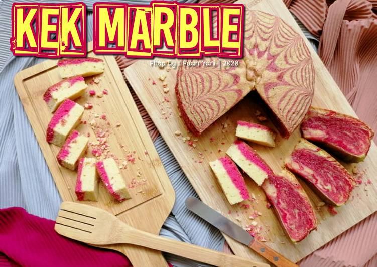 Kek Marble - resepipouler.com