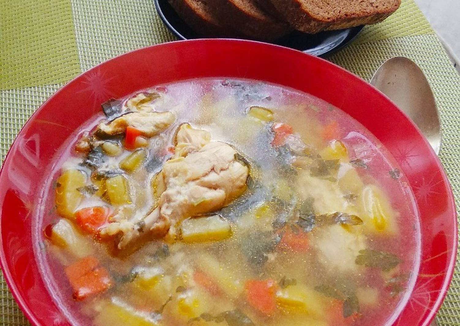 сам суп с курицей рецепт в картинках расстраивайтесь, если