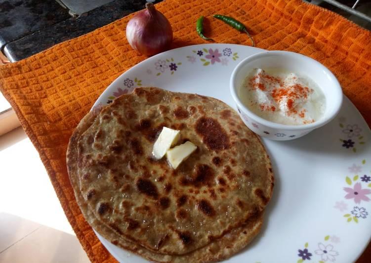 How to Prepare Award-winning - Punjabi Onion Stuffed Paratha