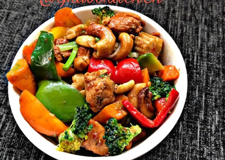 10 Minute How to Prepare Refreshing Thai chicken and vegetable spicy stir fry