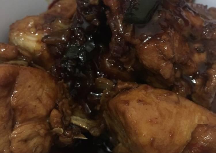 Ayam Kecap Pedas Manis