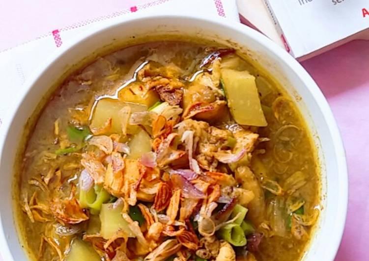 Rawon Ayam Labu Siam