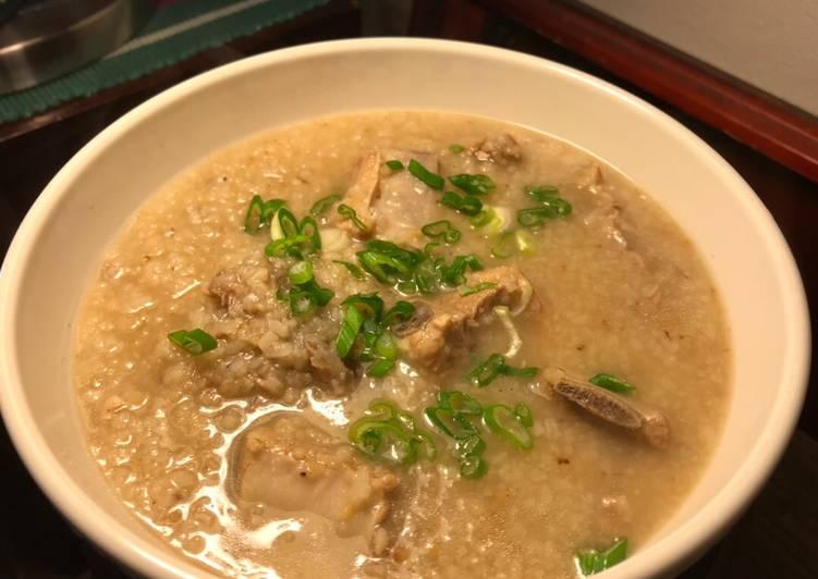 My Mother's Favorite Breakfast: Cháo Sườn(Pork Rib Porridge)