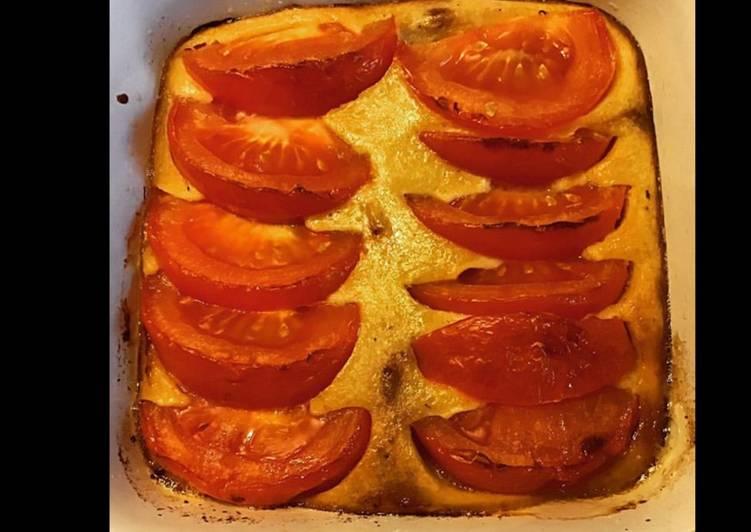 Nos 10 Meilleures Recettes de Clafoutis aux tomates et cheddar