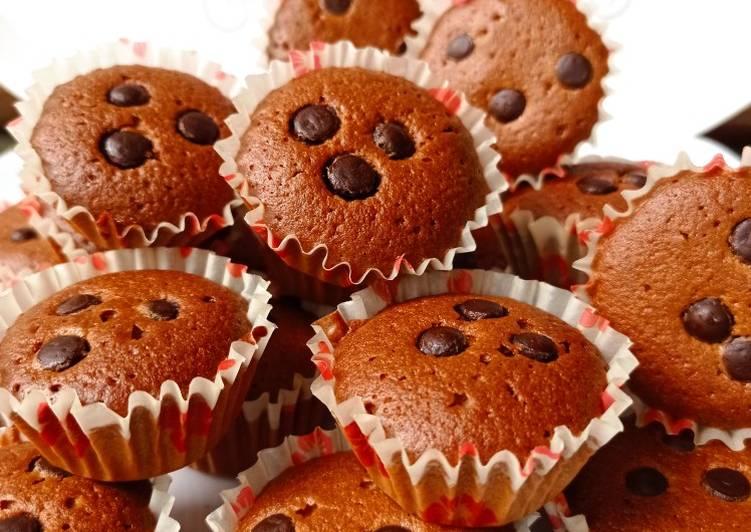 Brownis kering coklat