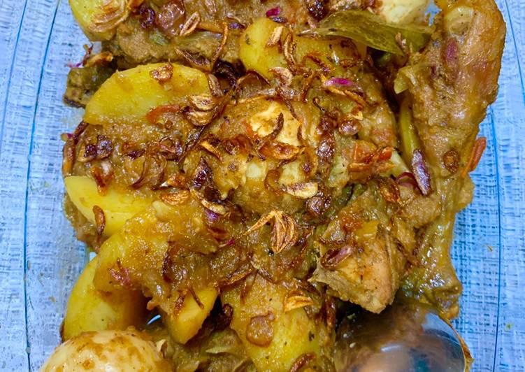 Resep Semur Ayam Kampung & Telur