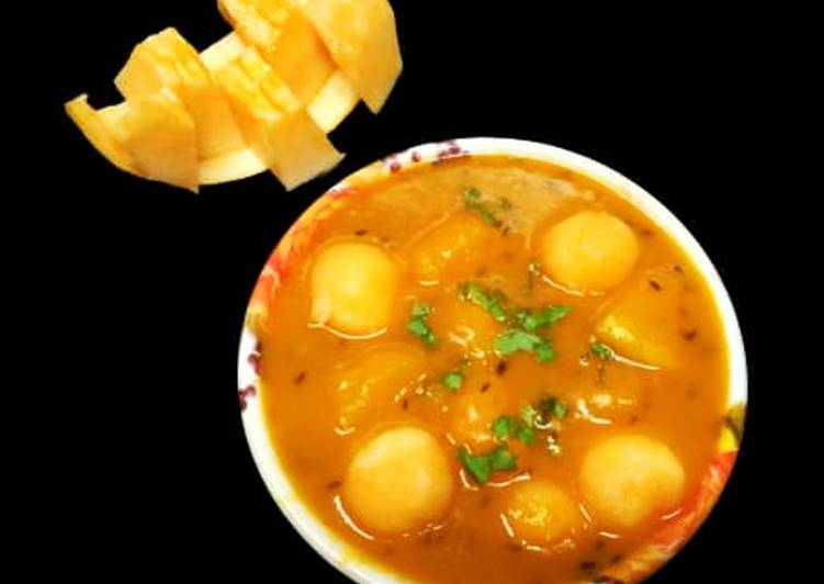 How To Learn Besan & sweet melon curry