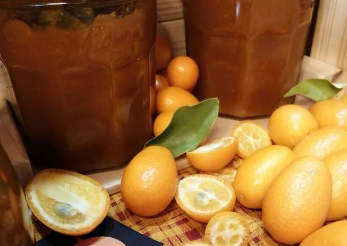 Recipe: Perfect 🍊Confiture de Kumquat et épices à pain d'épices