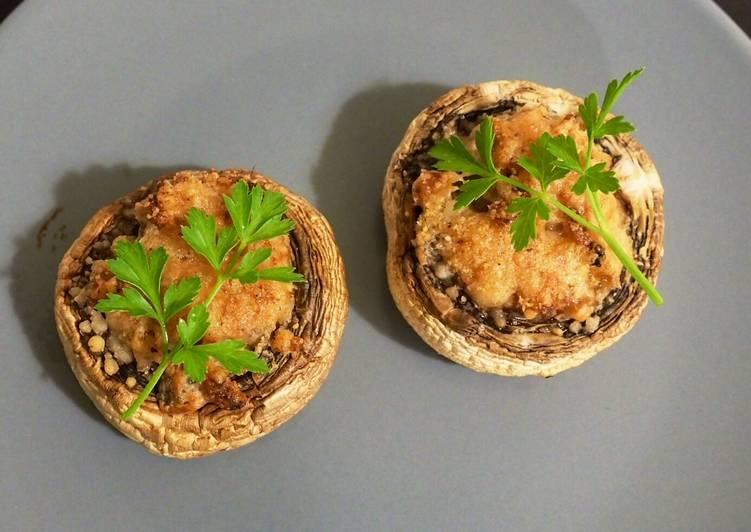 Le moyen le plus simple de Cuire Appétissante Champignons farcis aux marrons