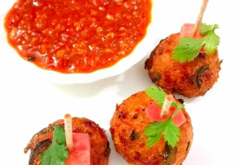Turn to Food to Elevate Your Mood Veg Chinese Balls