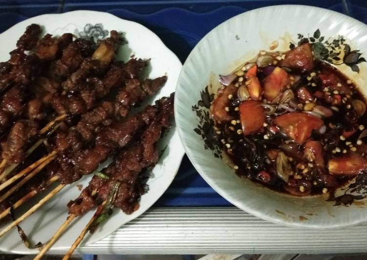 Resep Sate kambing Bikin Laper