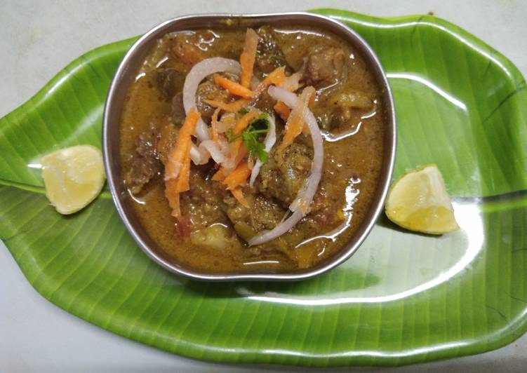 Easiest Way to Make Any-night-of-the-week Mutton sukka gravy